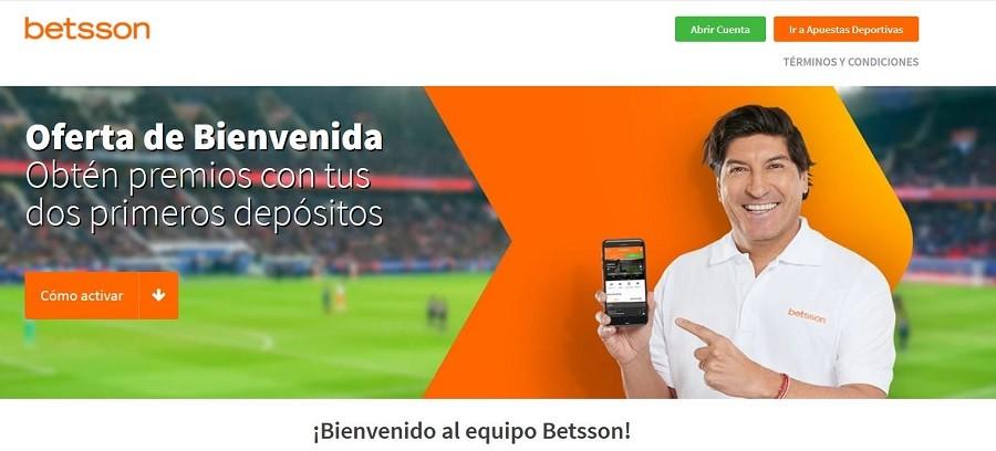 Zamorano Betsson Apuestas Chile