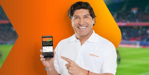 Iván Zamorano imagen de Betsson en Chile