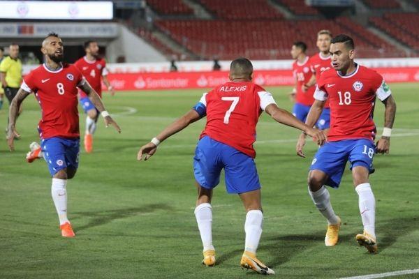 Fotografía clasificatorios del Mundial de Catar jornadas 3 y 4 selección chilena