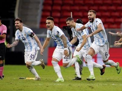 final de la Copa América Brasil vs Argentina